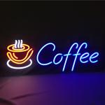 Neon LED Coffee