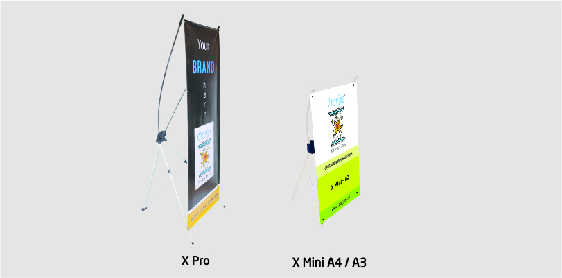 X Banner Stand Oorjaa