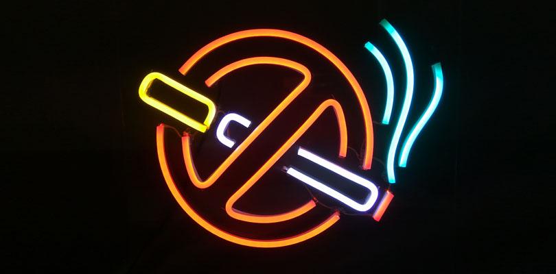 OD LED Neon - No Smoking