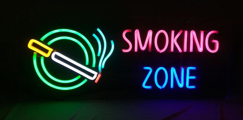 OD LED Neon - Smoking Zone