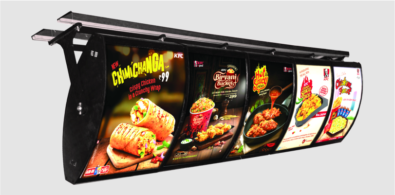 LED Menu Light Box D/S