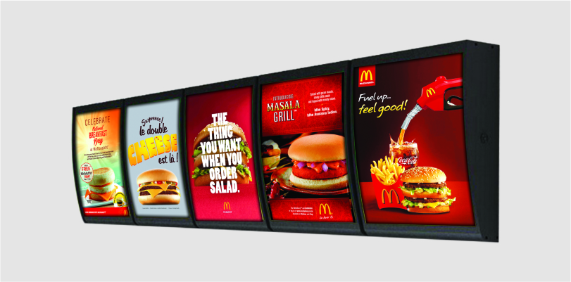 LED Menu Light Box S/S