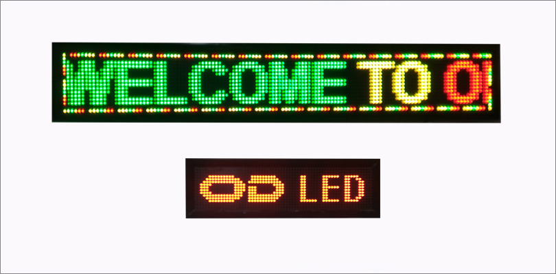 LED Table Top Display