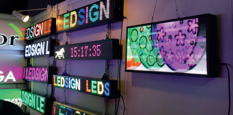 Multi Color Shop LED Display