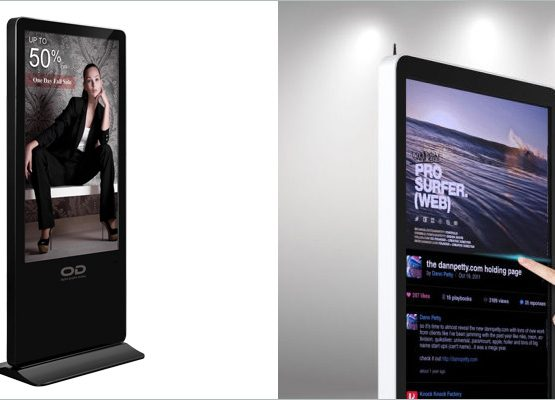 Touch Screen Digital LED Display001