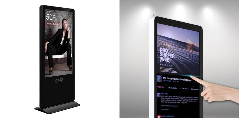 Touch Screen Digital LED Display